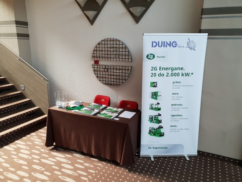 Duing d.o.o. participated at the 33rd international scientific and expert meeting of gas specialists (9-11.05.2018, Opatija)