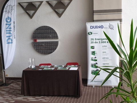 Duing d.o.o.  participated as exibitor at the 34th international scientific and expert meeting of gas specialists (8-10.05.2019, Opatija)