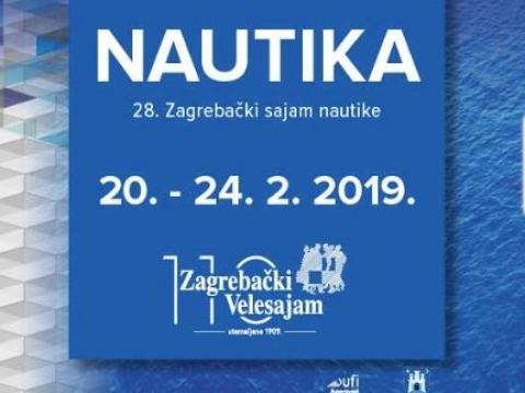 Zagrebački sajam nautike  20. - 24. 2. 2019.
